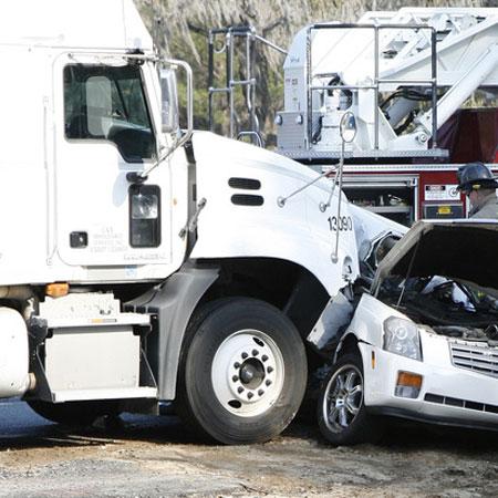Accidente de Camiones